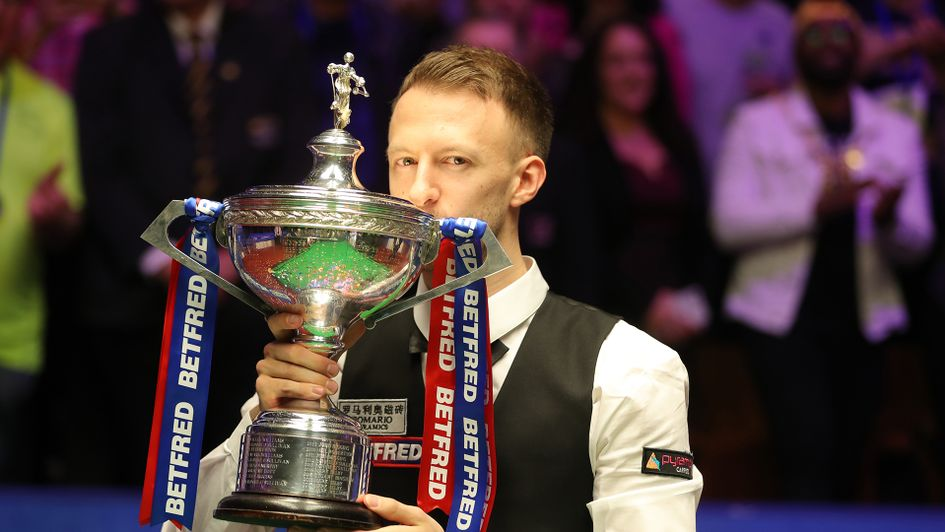 Judd Trump: World champion for the first time
