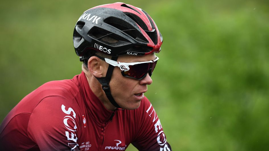 Chris Froome: Team Ineos cyclist keen to return to action