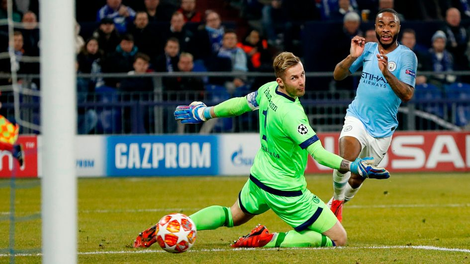 Raheem Sterling: Manchester City forward scores the winner against Schalke in the Champions League