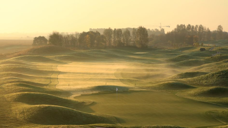 The sixth hole at Le Golf National
