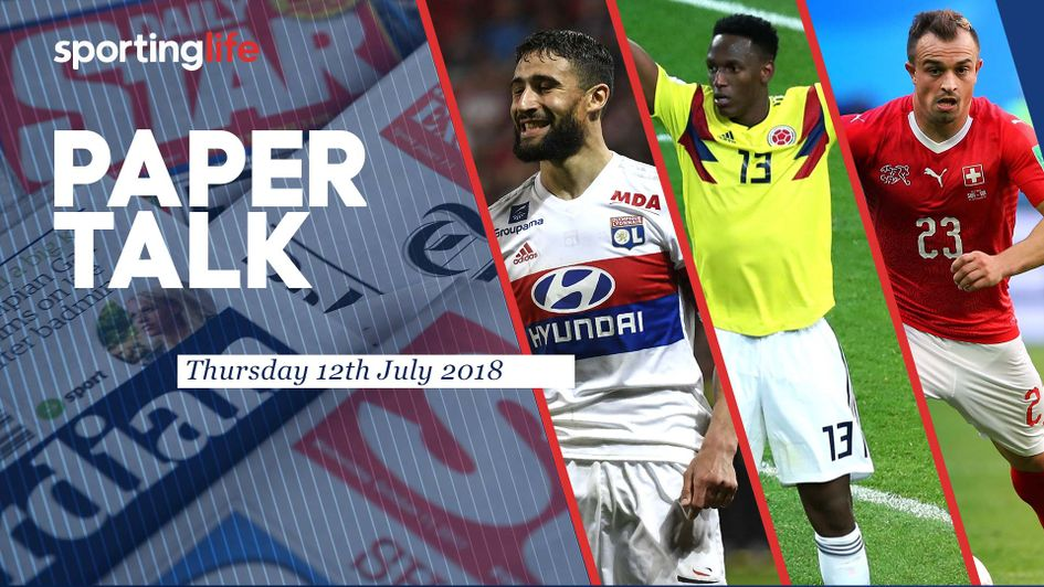 Fekir, Mina & Shaqiri all in Thursday's Paper Talk