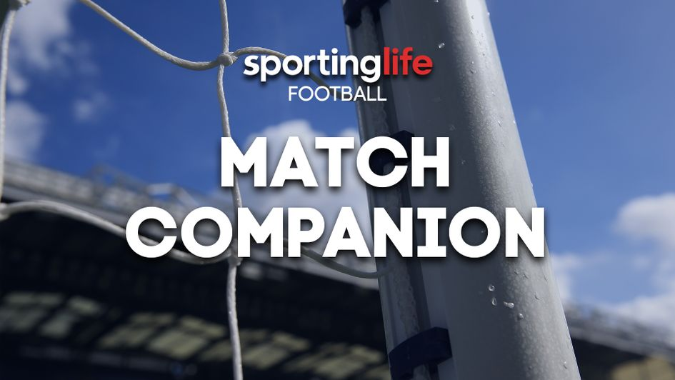 Follow our live football blog for instant score updates, game stats and in play betting advice