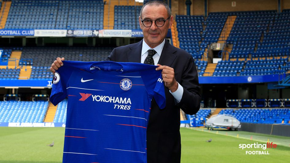 Maurizio Sarri is the new Chelsea boss