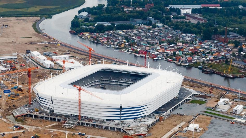 Kaliningrad's World Cup stadium