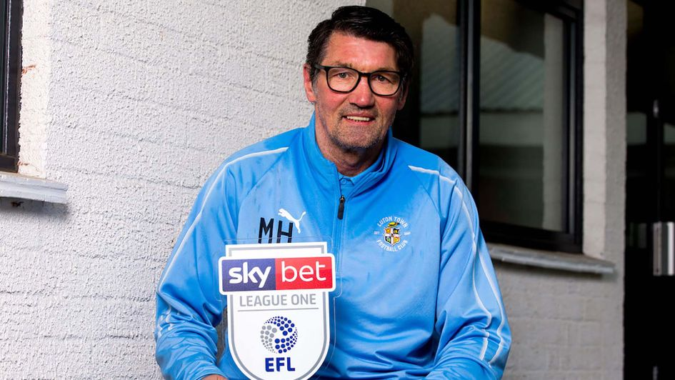 Luton Town boss Mick Harford wins manager of the Month for March