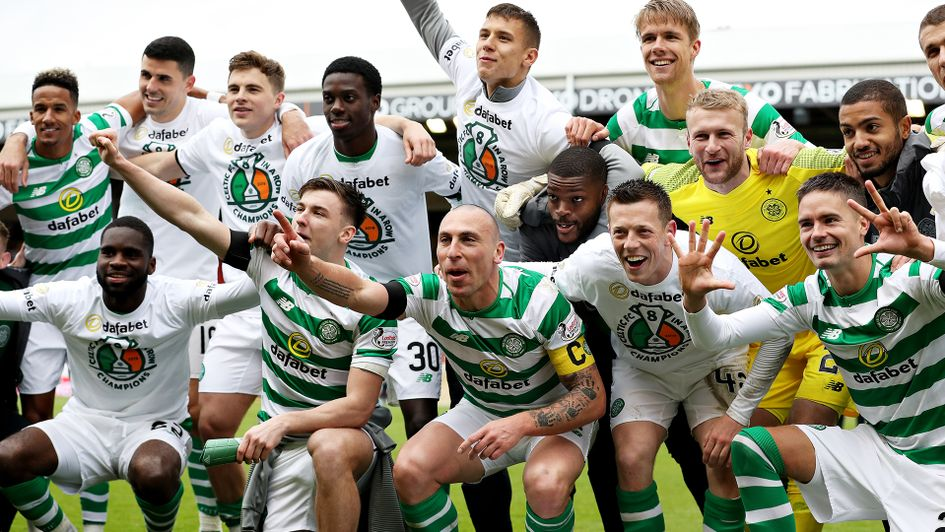 Celtic have been crowned champions of Scotland again