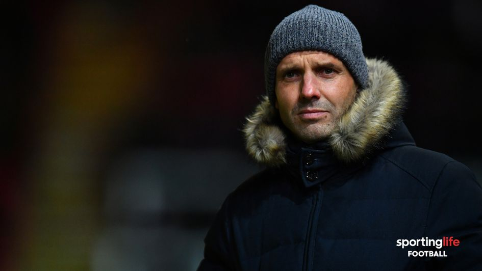 Paul Tisdale joined MK Dons in the summer