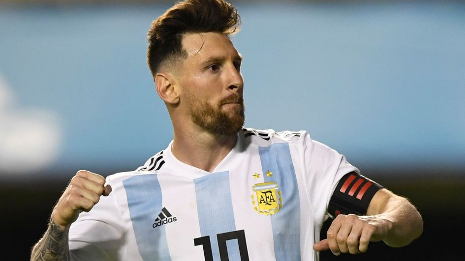 World Cup 2018: Lionel Messi says Argentina can be contenders. Football. Lionel Messi: The Argentina ace netted his 47th senior hat-trick