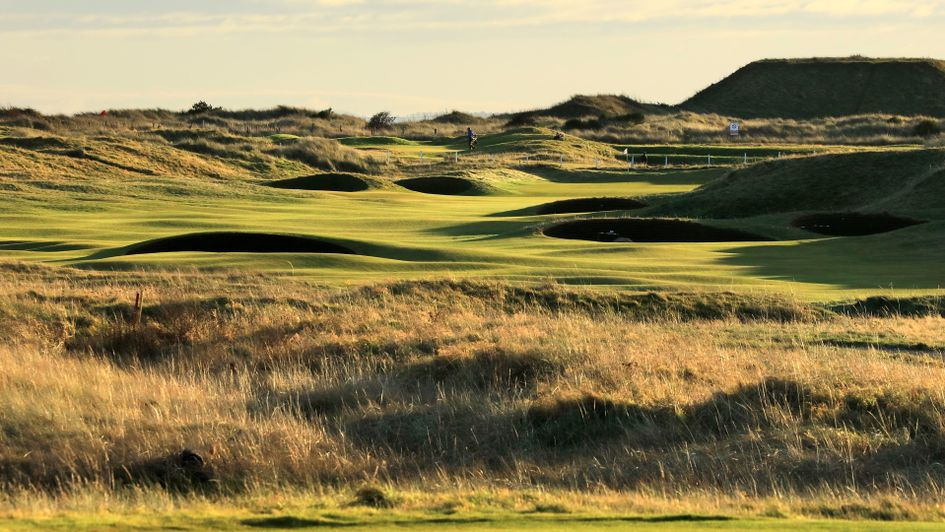 The second hole at Carnoustie