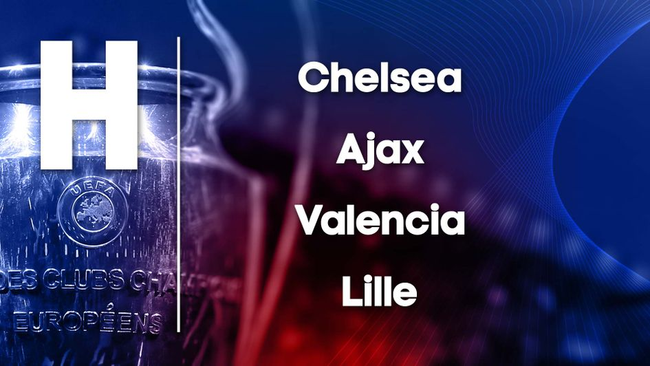 Champions League Group H: Chelsea, Ajax, Valencia, Lille