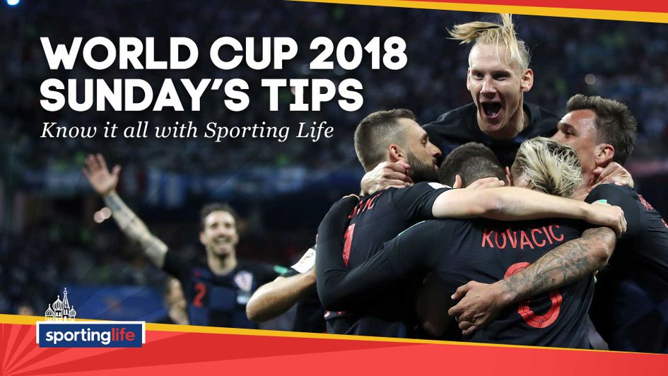 Our tips for Sunday's last 16 games at the World Cup