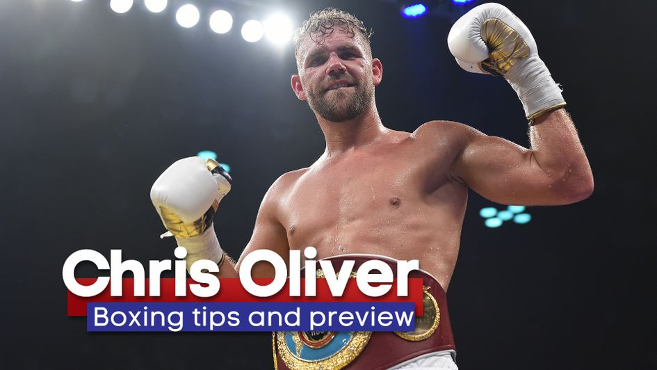 Chris Oliver's boxing tips and preview