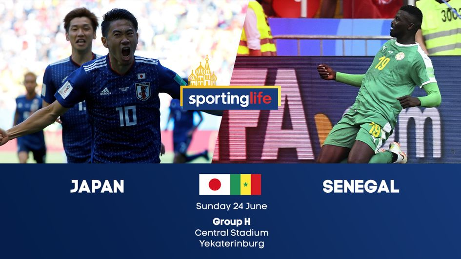 Japan v Senegal: Group H at the 2018 World Cup