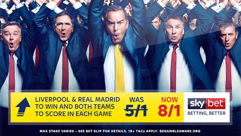 Sky Bet's Soccer Special Price Boost for Wednesday night's action