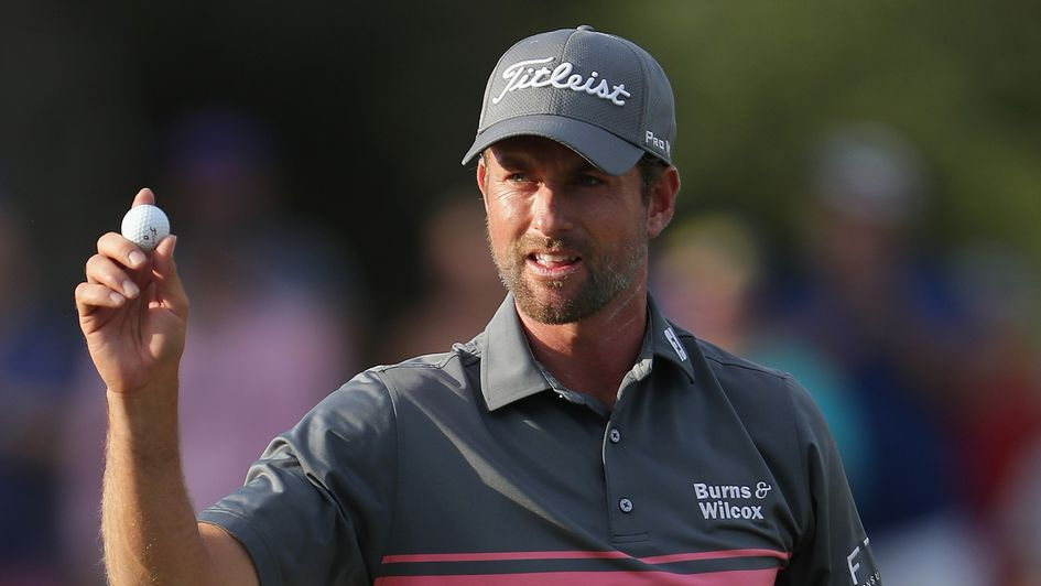 Webb Simpson - seven clear going into final round