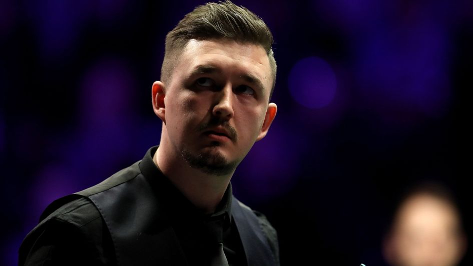 Kyren Wilson on his way to an unlikely victory