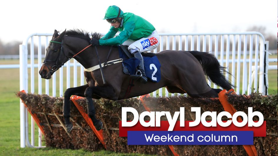 Daryl Jacob in action