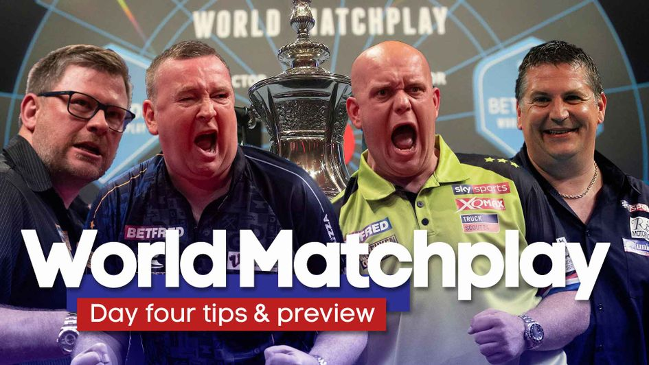 World Matchplay darts: Day four predictions, odds, betting tips