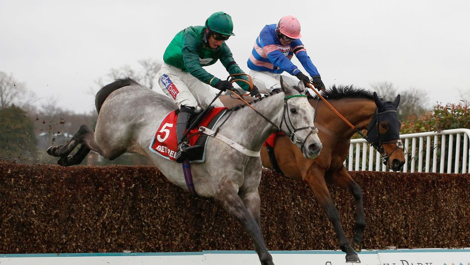 Terrefort and Daryl Jacob clear the last