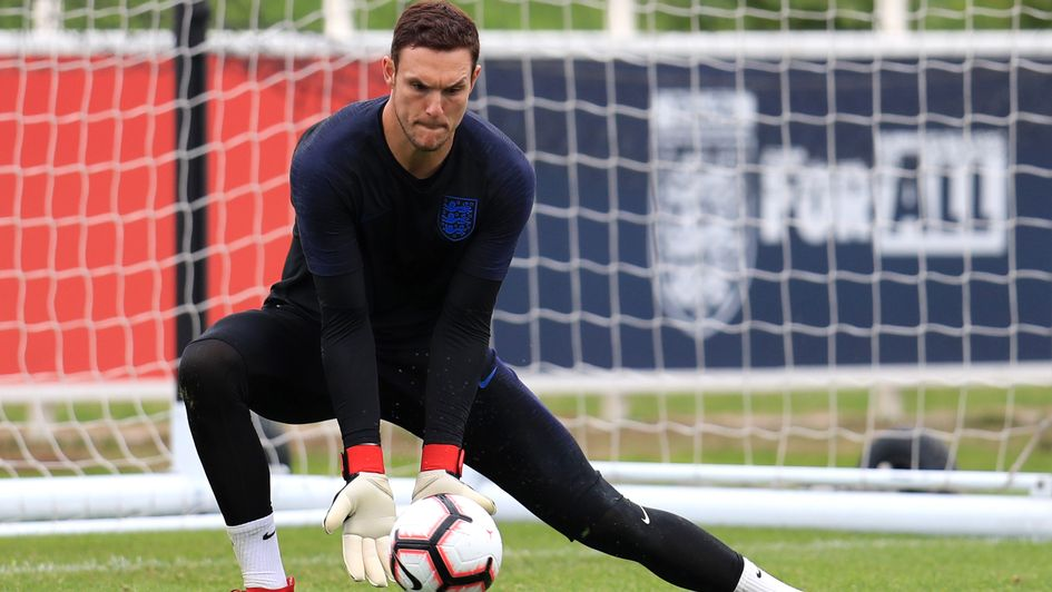 Alex McCarthy - withdrawn from England squad