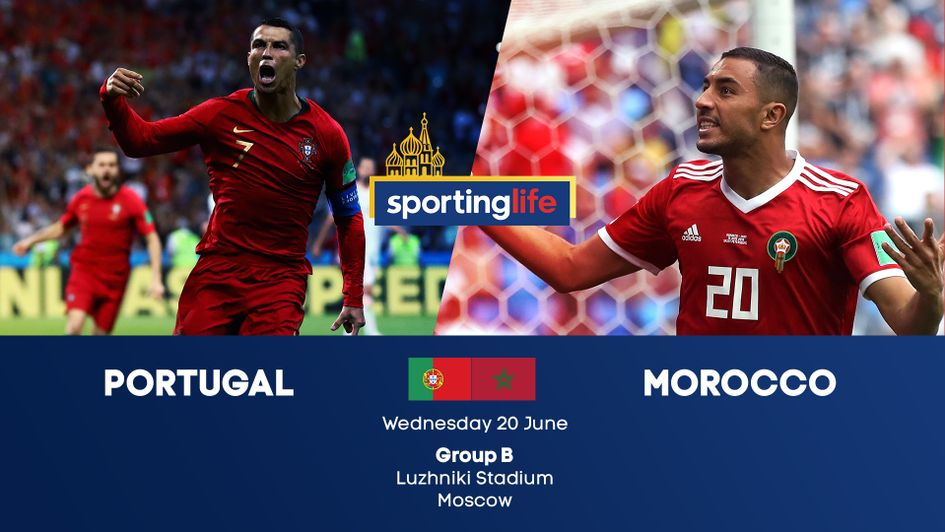 Portugal v Morocco in matchday two of Group B