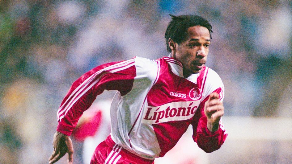 Thierry Henry began his playing career at Monaco