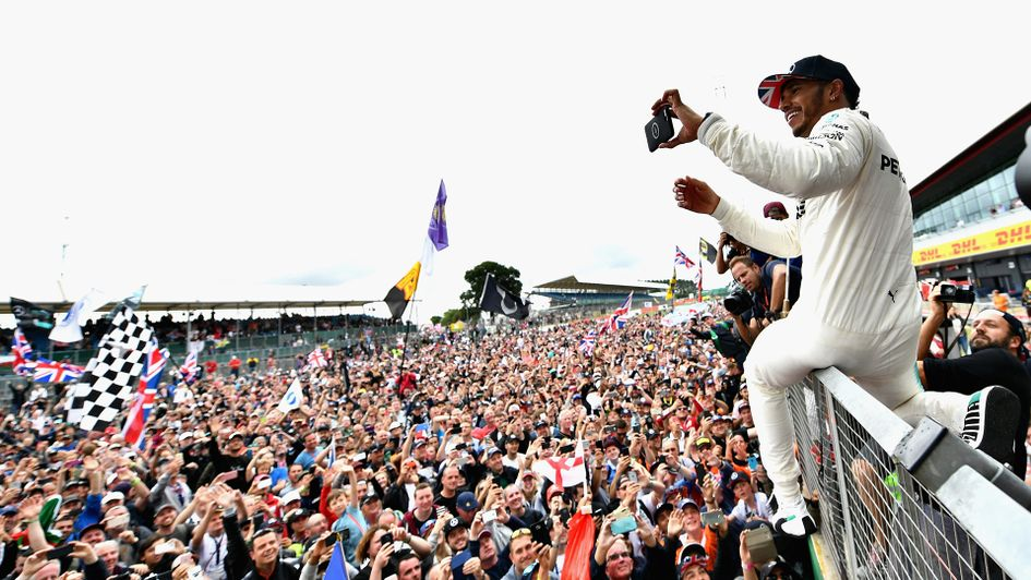 Lewis Hamilton is bidding to make history at the British Grand Prix