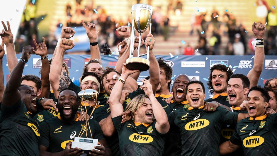 South Africa are the 2019 Rugby Championship champions