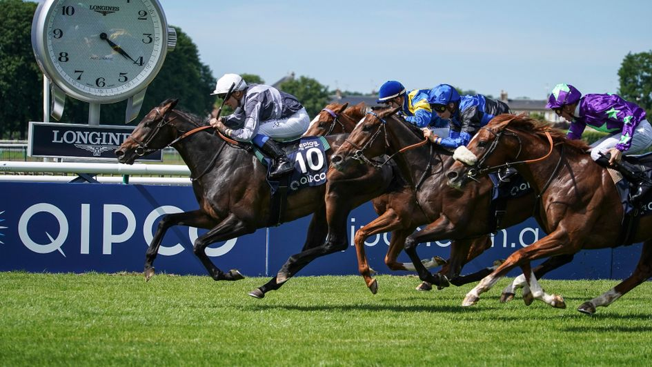 Study Of Man wins the Prix du Jockey Club
