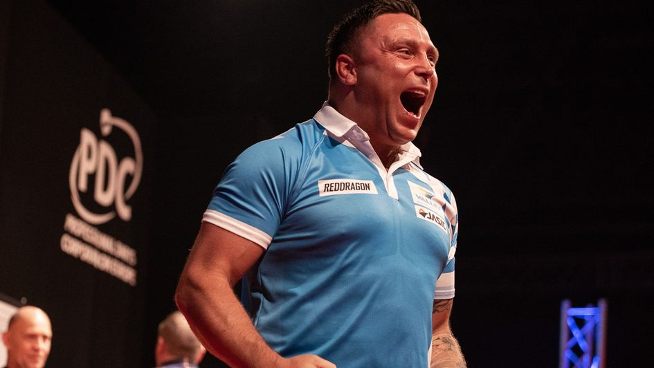 Celebration time for Gerwyn Price - Jonas Hunold - PDC Europe
