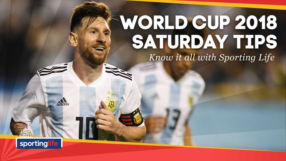 Check out our tips for all of Saturday's four matches at the World Cup
