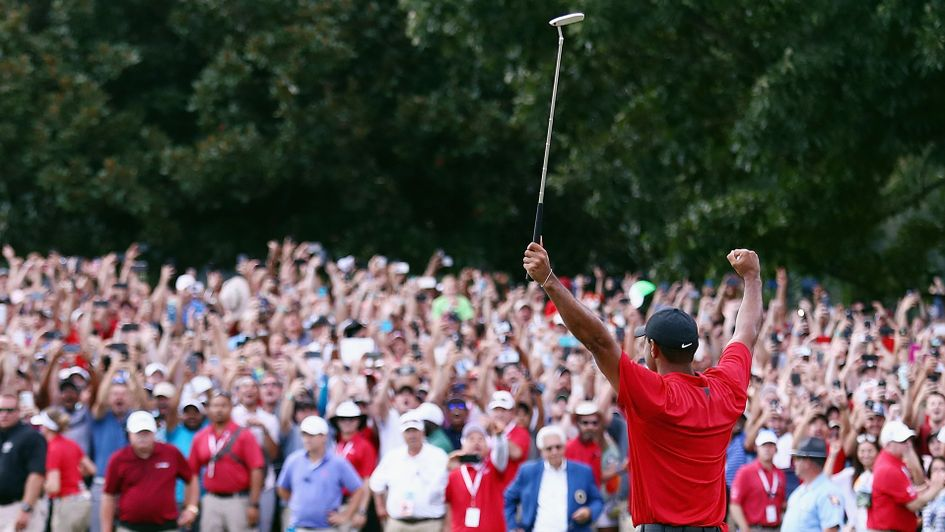 Tiger Woods is once again a winner