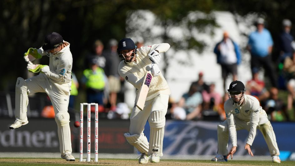 James Vince in action on day three