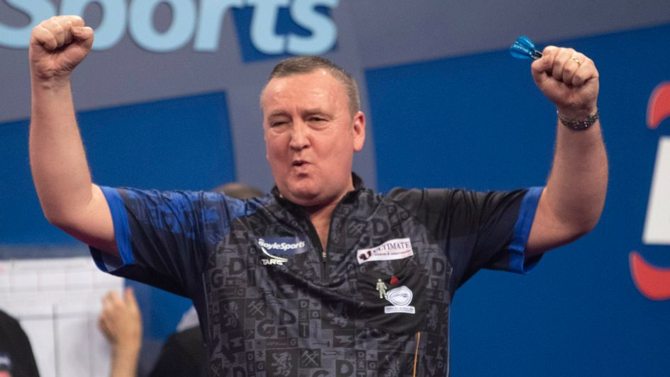 Glen Durrant (Picture: Lawrence Lustig/PDC)