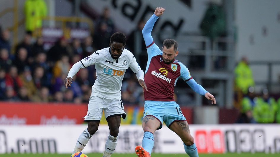 Burnley's classy midfielder performer Steven Defour