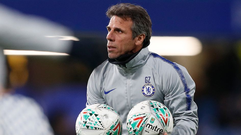 Gianfranco Zola is the current assistant manager at Chelsea