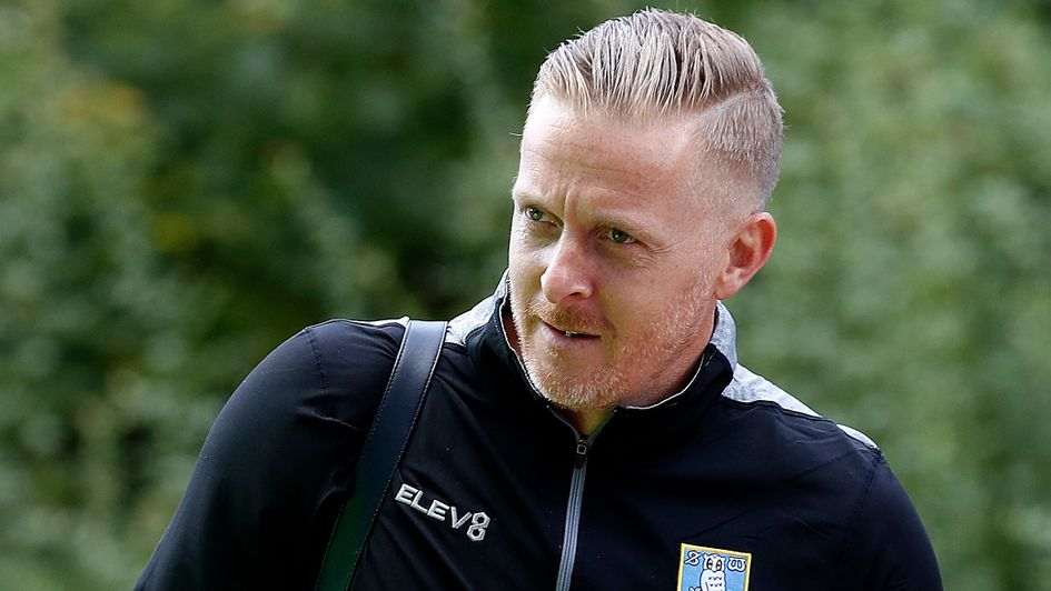 Garry Monk arrives for his first game as Sheffield Wednesday boss