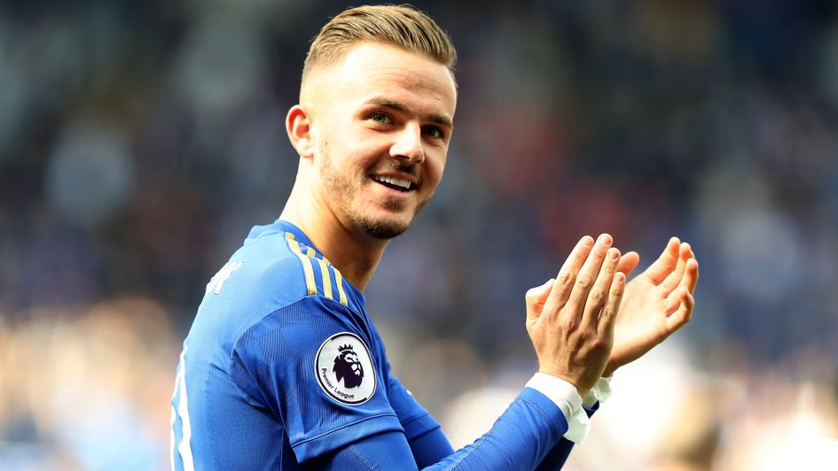 James Maddison: The 22-year-old had an impressive first season at Leicester