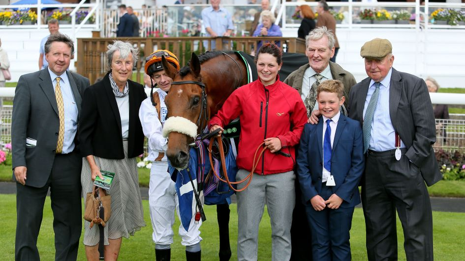 Connections of Mukhayyam celebrate his York win
