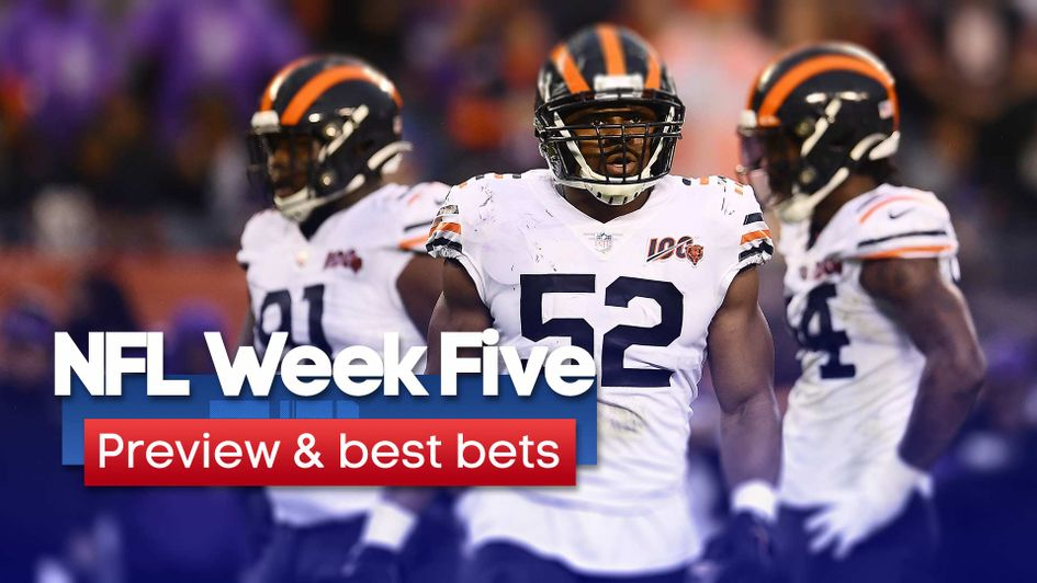 Check out our preview & best bets for Week Five in the NFL