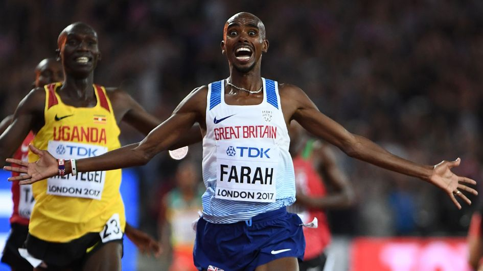 Mo Farah: More history for the Briton