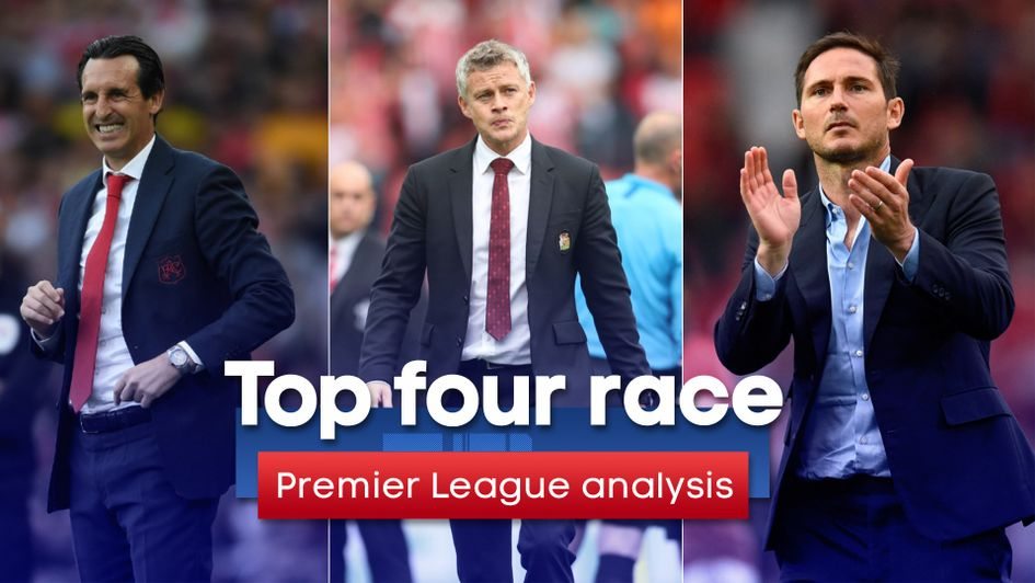 Premier League top four: We assess each side's chances of finishing in the Champions League places