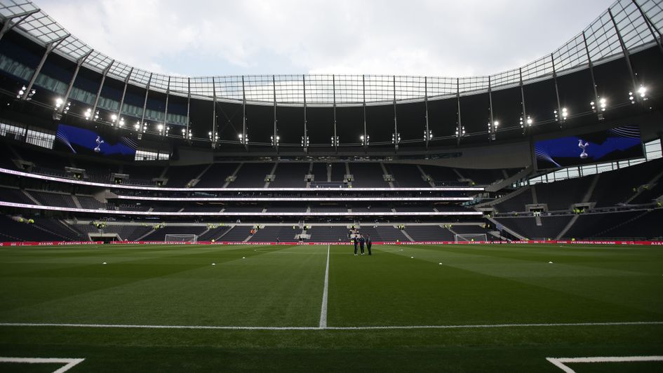 Tottenham at their new stadium for the first time against Crystal Palace