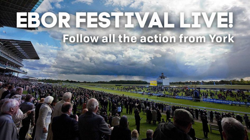 Recap David Ord\'s blog from the opening day of the York Ebor ...
