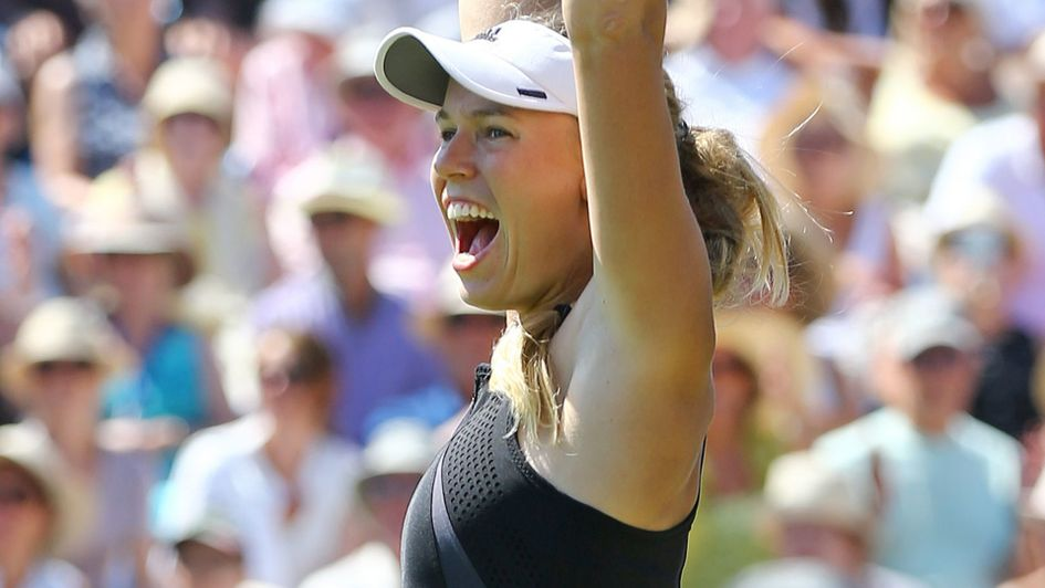 Caroline Wozniacki: The 27-year-old Dane has won at Eastbourne for a second time