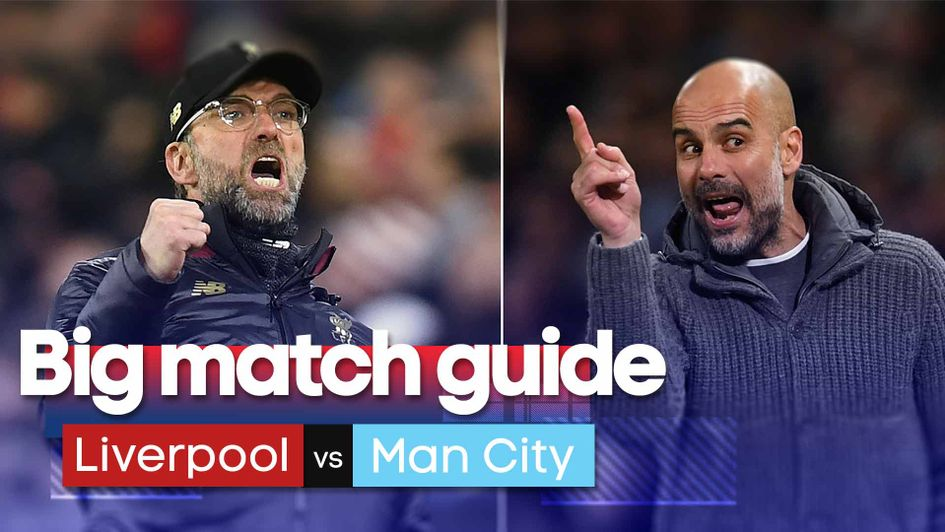 Our Premier League big match guide for Liverpool v Man City including features, videos, stats and predictions