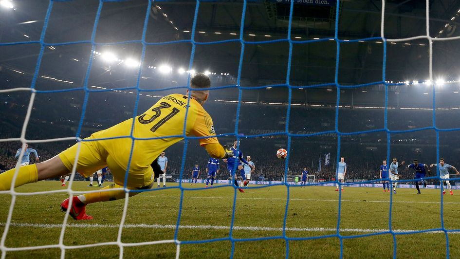 Nabil Bentaleb: Schalke ace scores a penalty against Manchester City