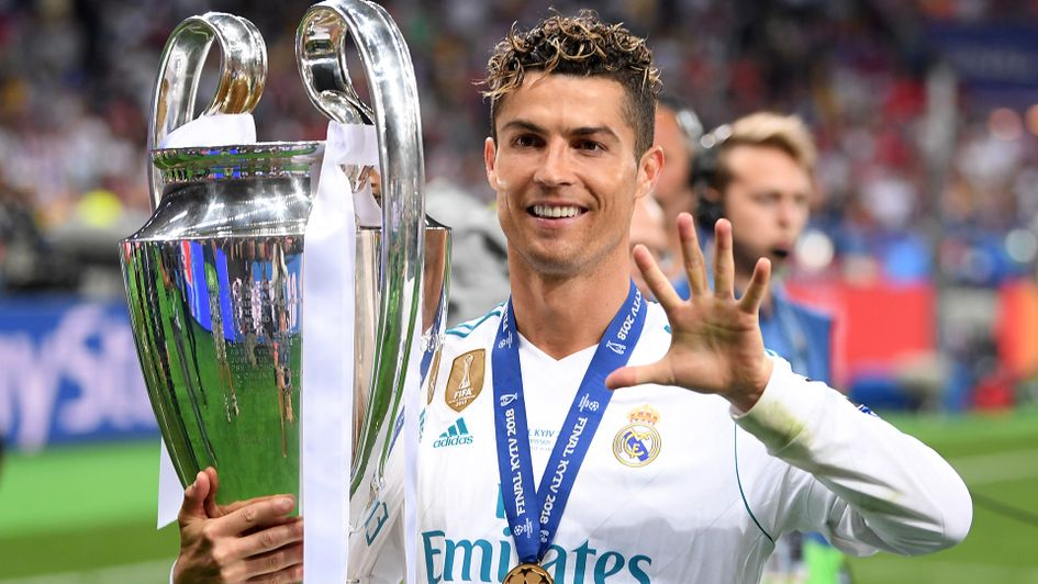 Cristiano Ronaldo won a fifth Champions League title