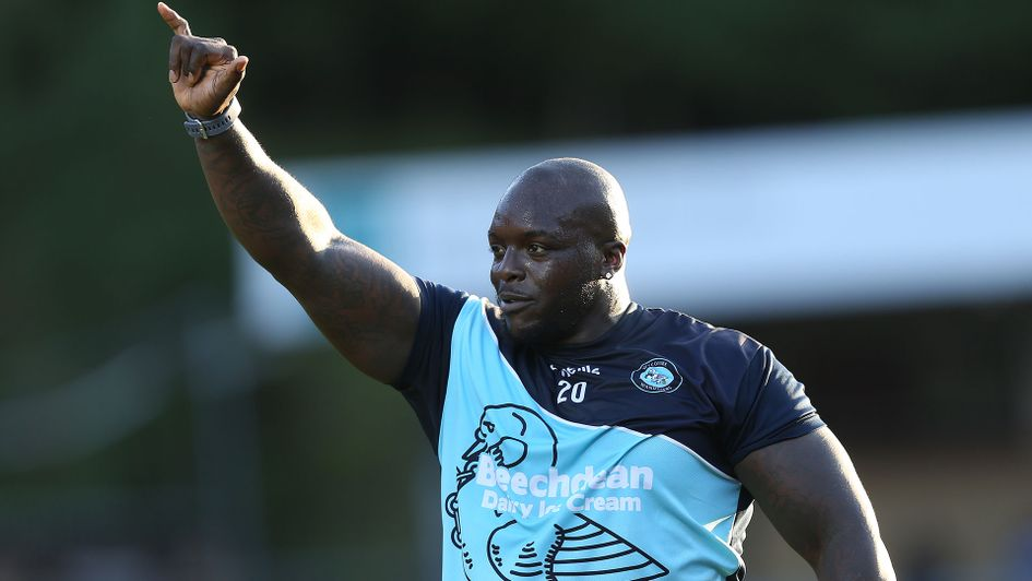 Adebayo Akinfenwa claimed three goals and three assists in October