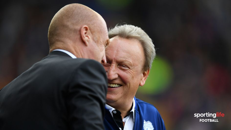 Neil Warnock and Sean Dyche